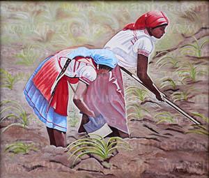 Pinturas de Mujeres Indigenas